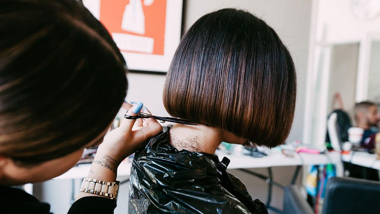 Hairstylist knows how to keep clients coming back by giving great consultations to her clients