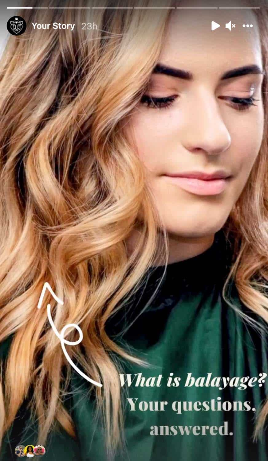 what is balayage? your questions answered instagram story