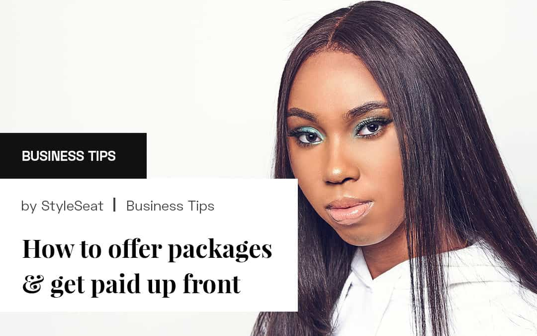 How to offer packages and get paid up front
