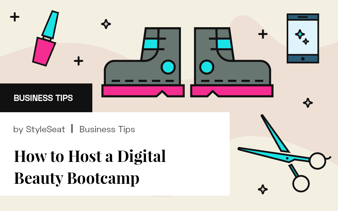 Digital Beauty Bootcamp Graphic