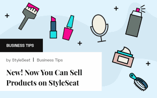 New! Now You Can Sell Products on StyleSeat
