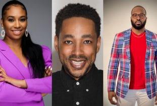 StyleSeat Pros Asia Bey, John George, and Reginald Crawford