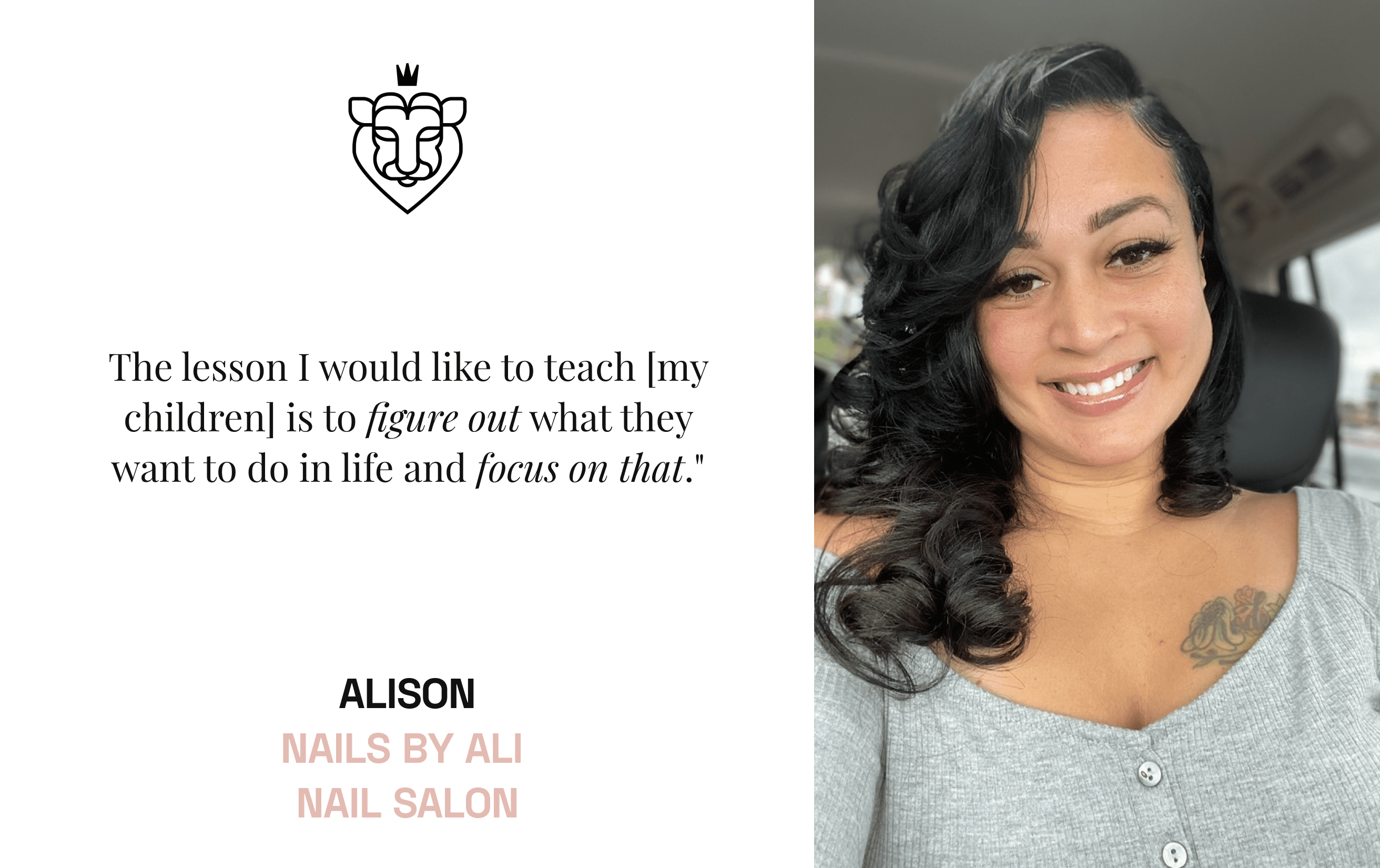 Nail Artist Alison Harvey of Nails by Ali Nail Salon