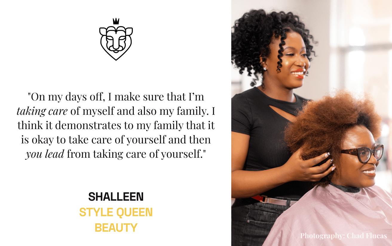 StyleSea Pro Hairstylist Natural Hair Shalleen-Kaye Jones Style Queen Beauty