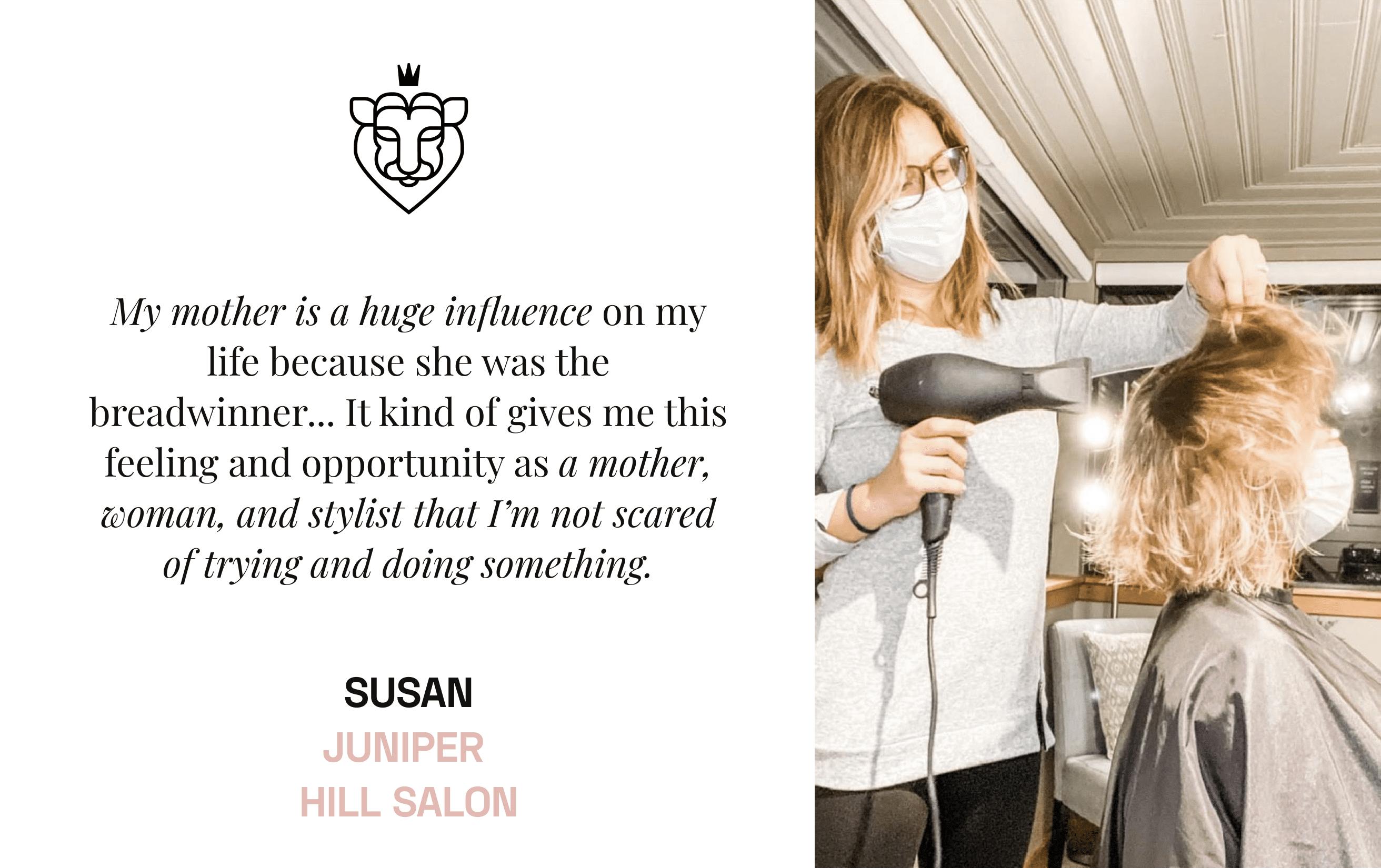 StyleSeat Pro Hairstylist Susan Miller Juniper Hill Salon
