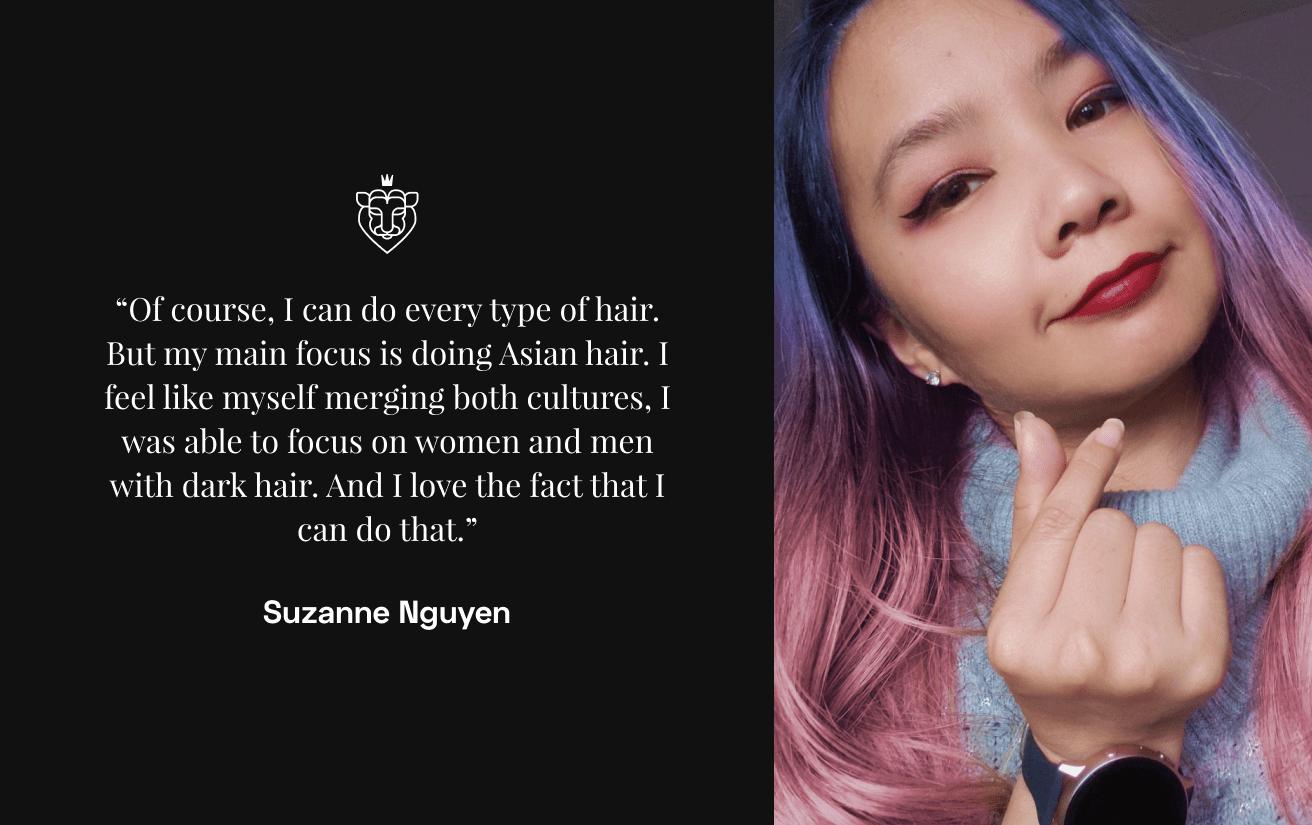 Asian beauty pro Suzanne Nguyen