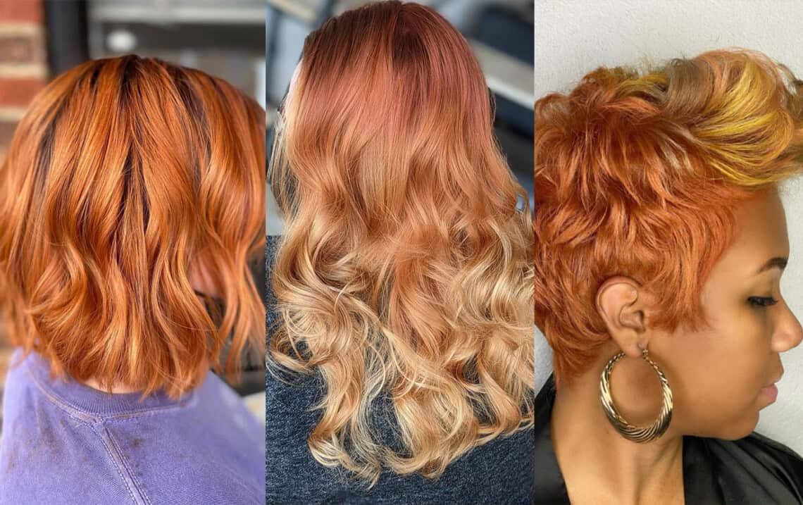 Spring 2021 Hair Trend Copper Hair