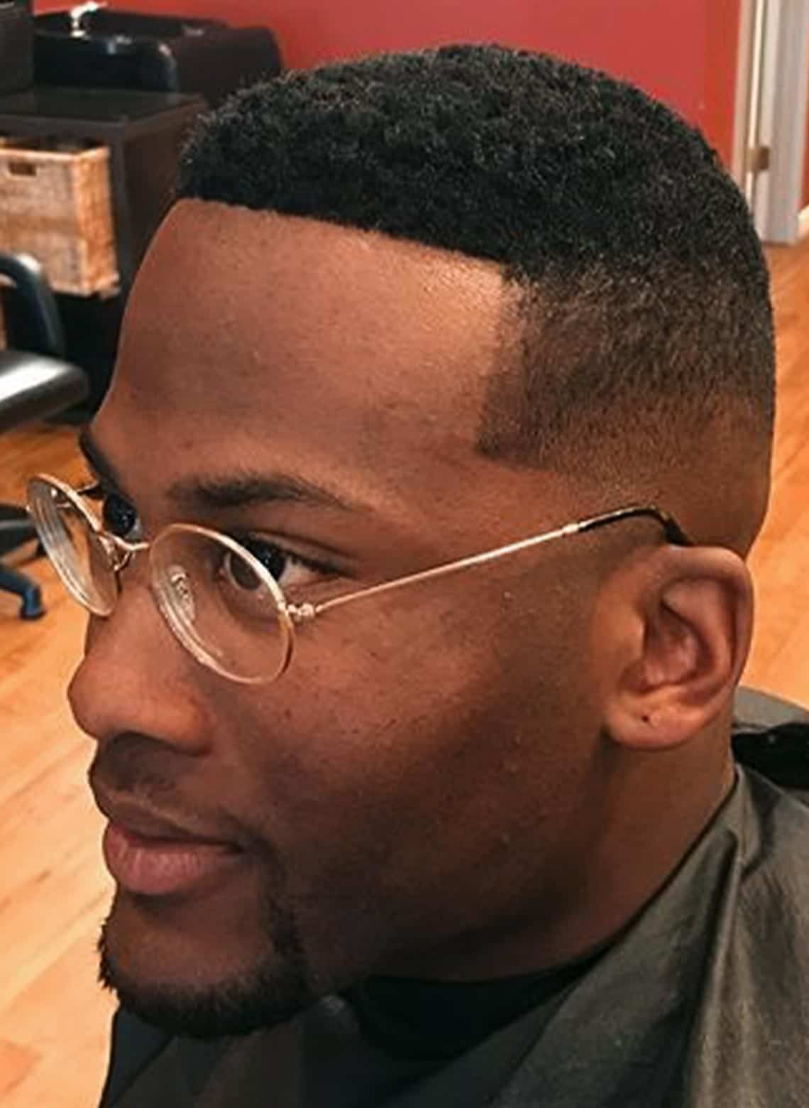 man with low fade