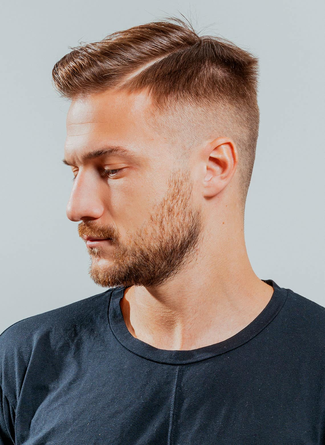man with high fade