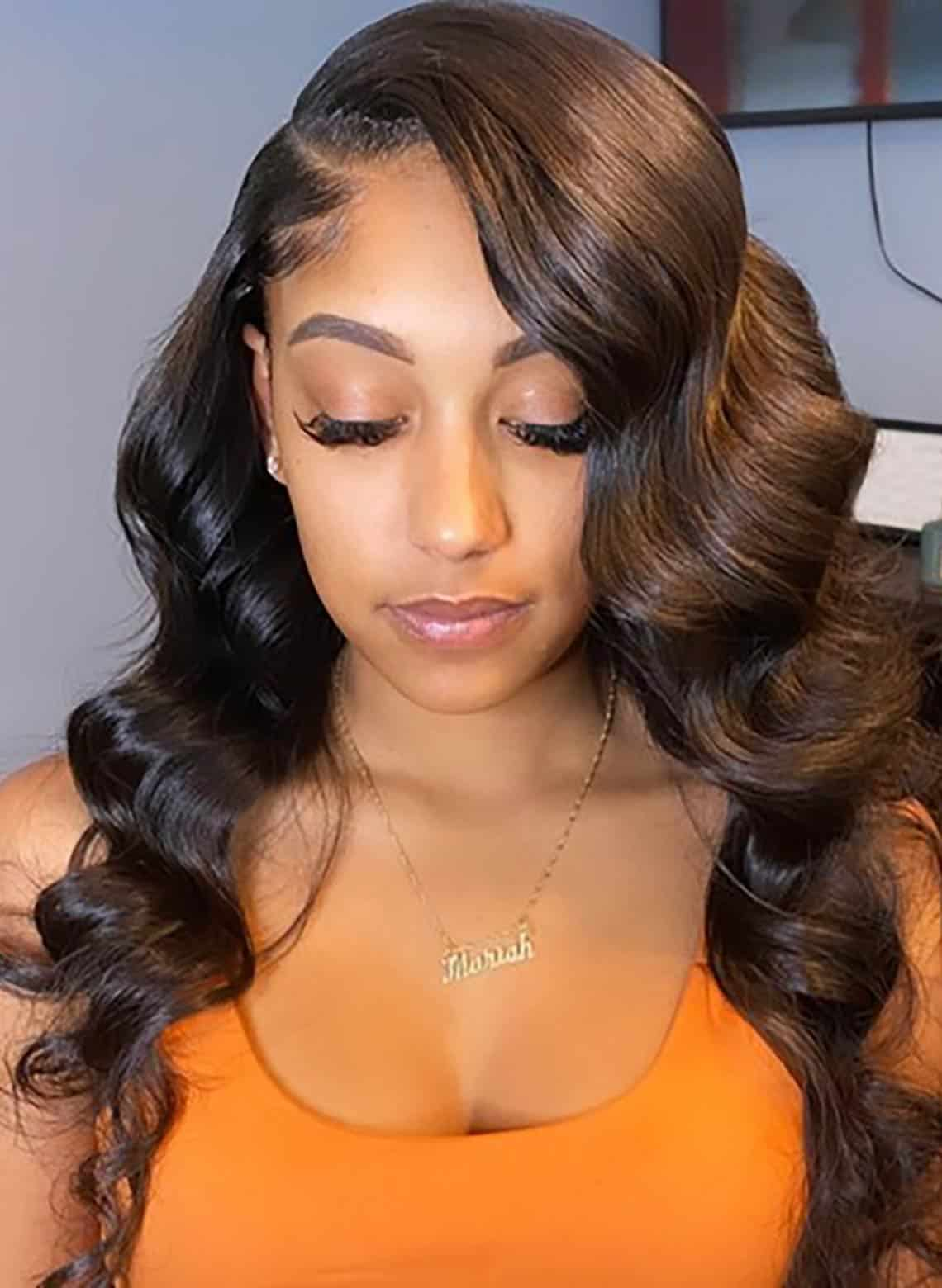 waves with deep side part