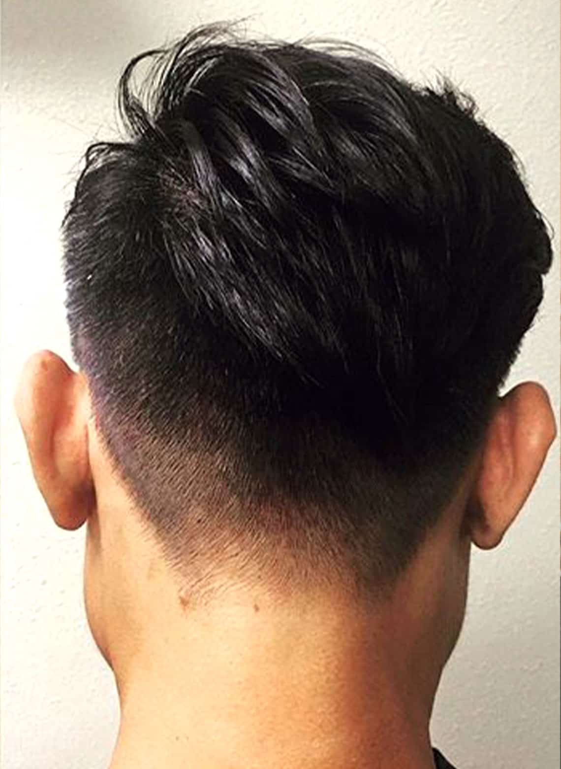 man with textured hair