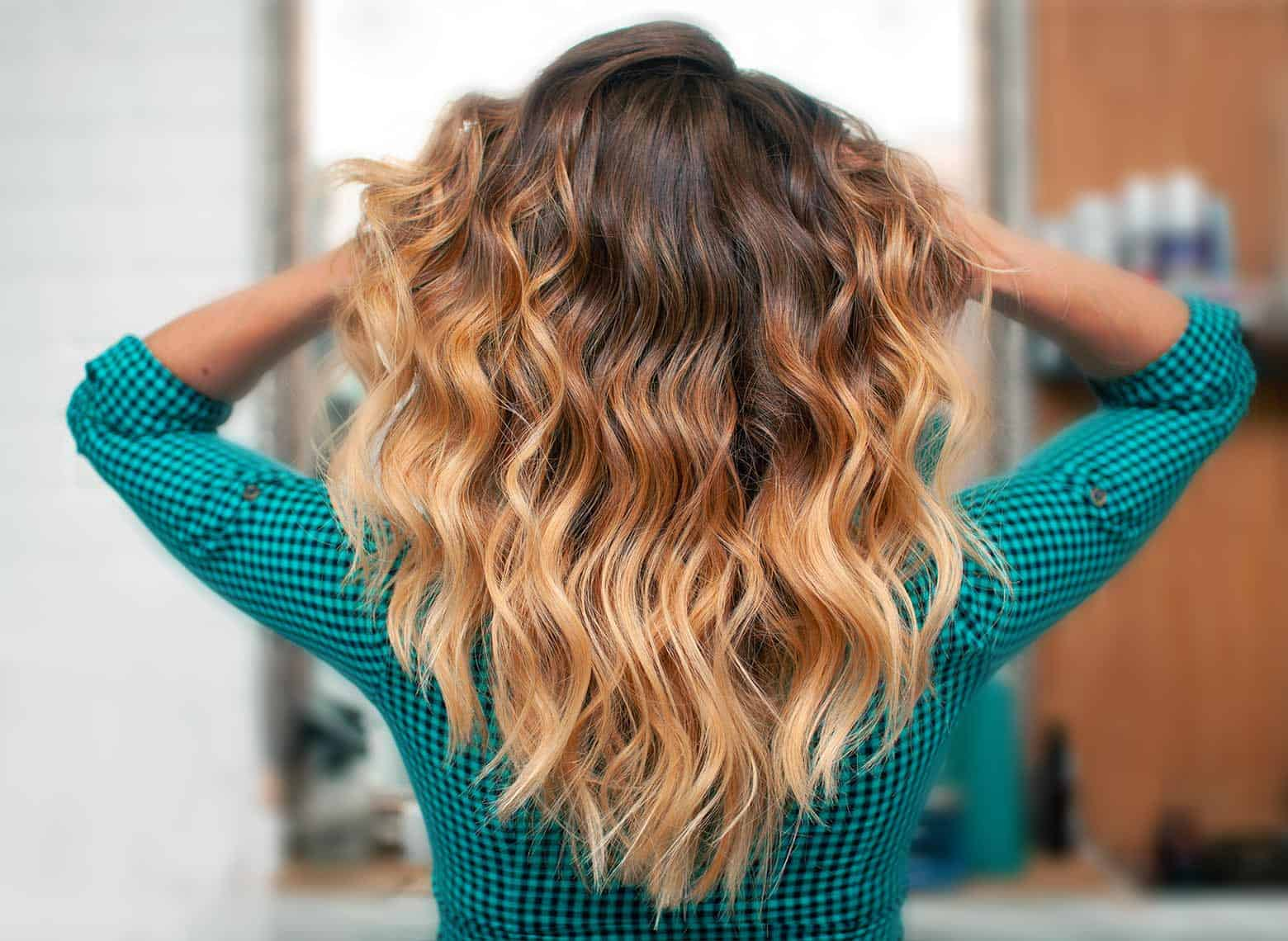 woman with ombre