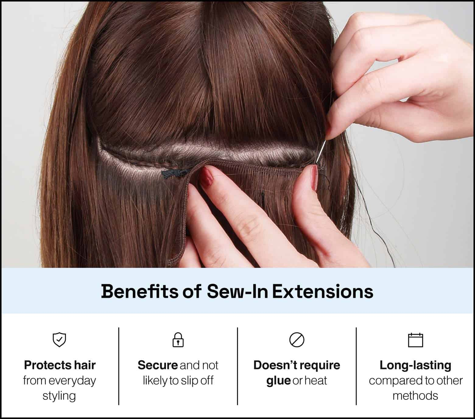 benefits of sew-in extensions