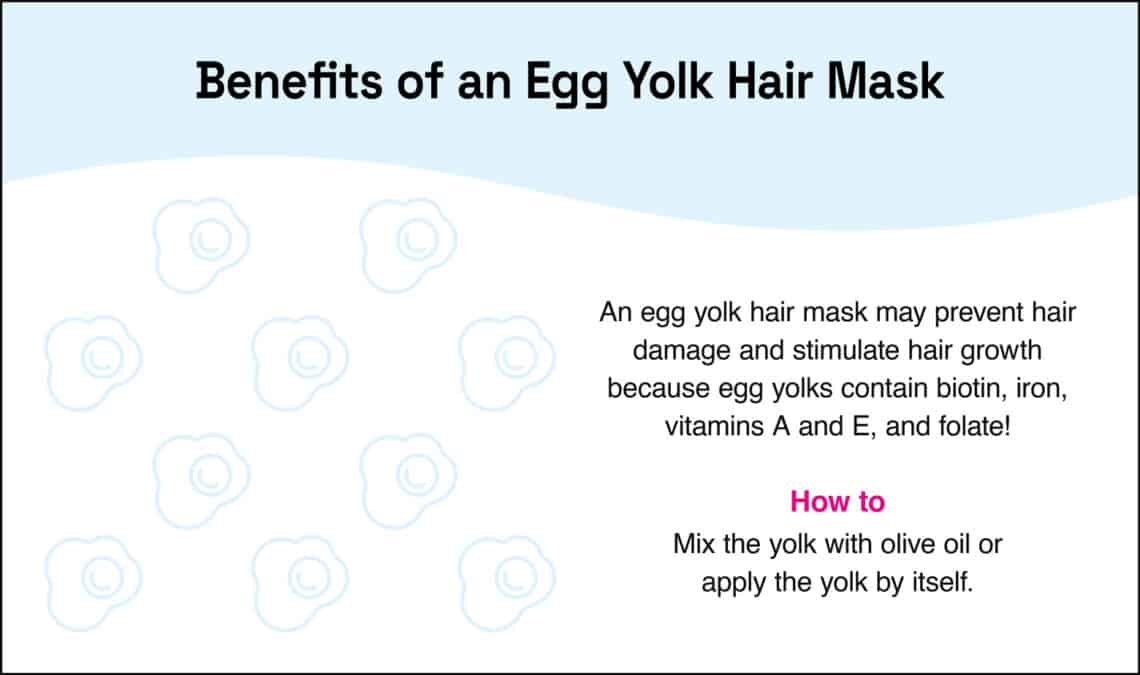 benefits of an egg yolk hair mask