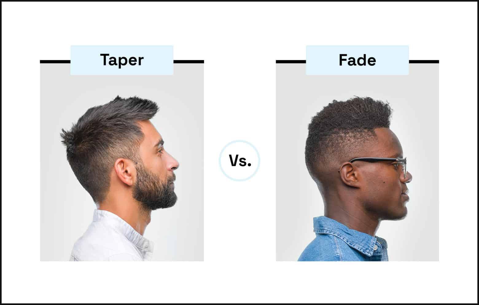 taper vs fade