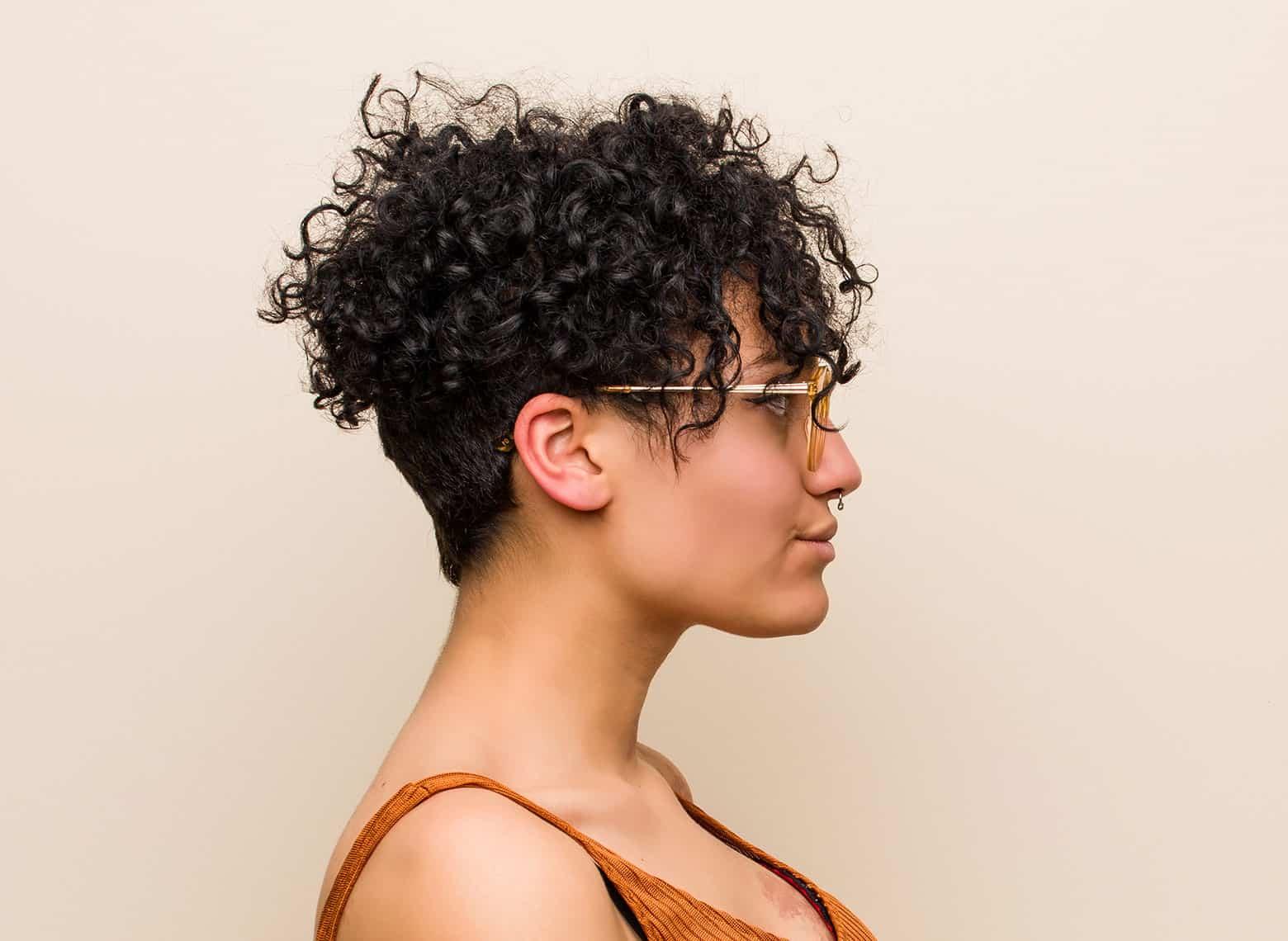 woman with undercut