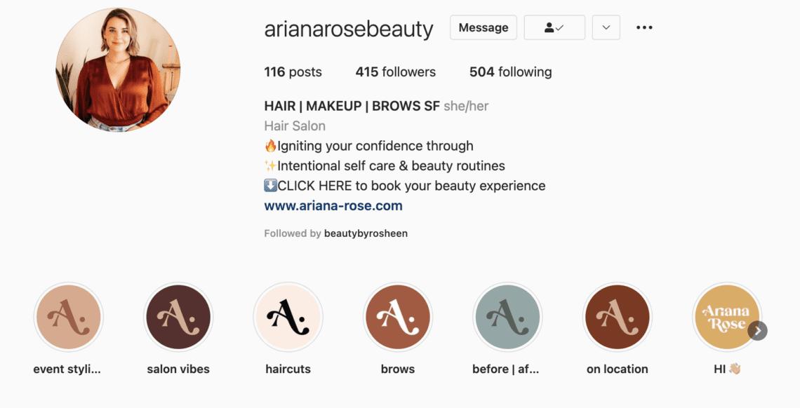 ariana rose instagram
